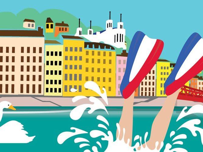 una inmersión para aprender francés
