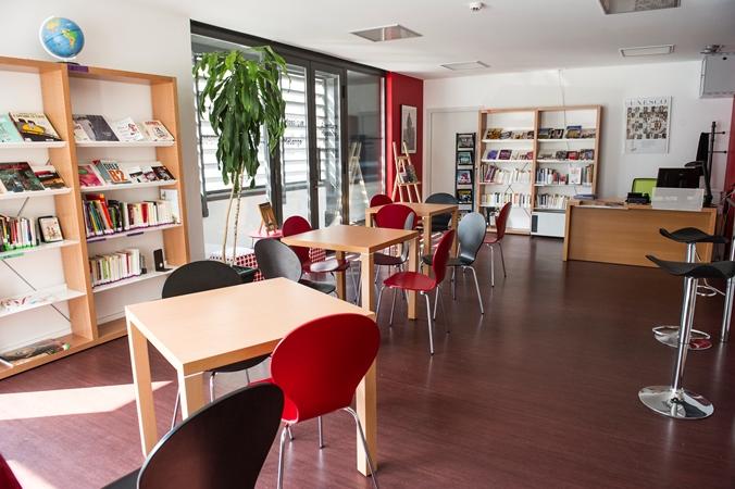 bibliothèque, alliance française de lyon, bibliothèque de l'apprenant, apprendre le français