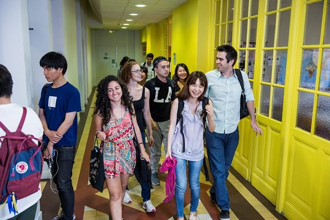 étudiants, alliance française, cours de français, apprendre le français, alliance française de Lyon