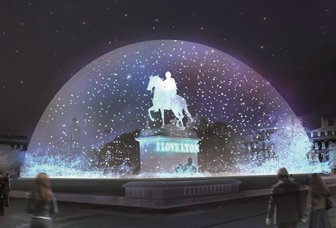 Lyon's festival of lights
