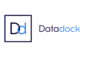 Logo Data Dock, alliance française de lyon