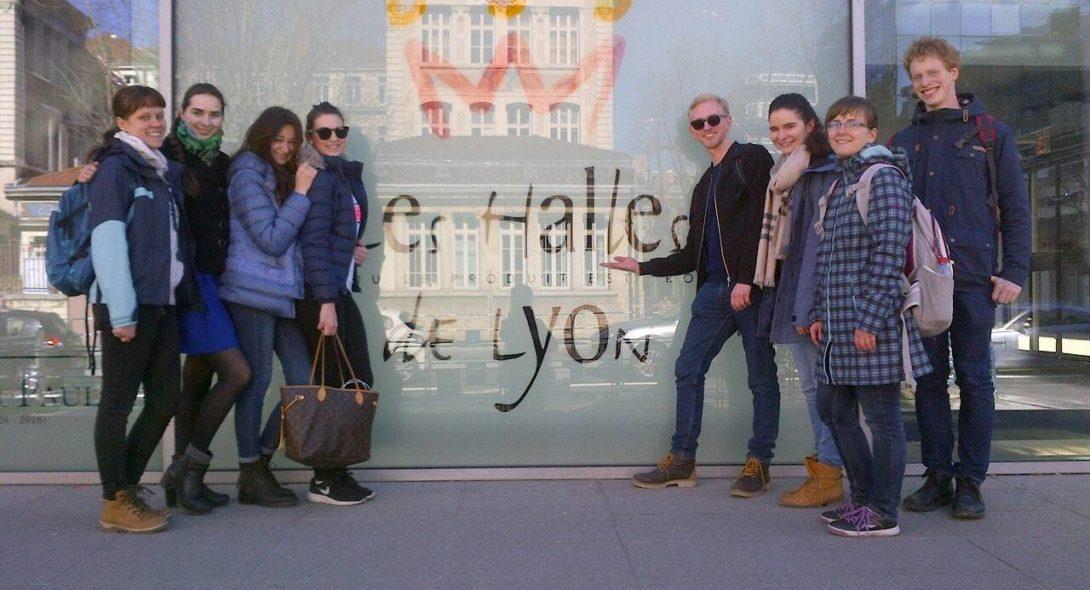 alliance française de Lyon, france, lyon, accueil, groupes, cours de français, séjour linguistique, halles paul bocuse