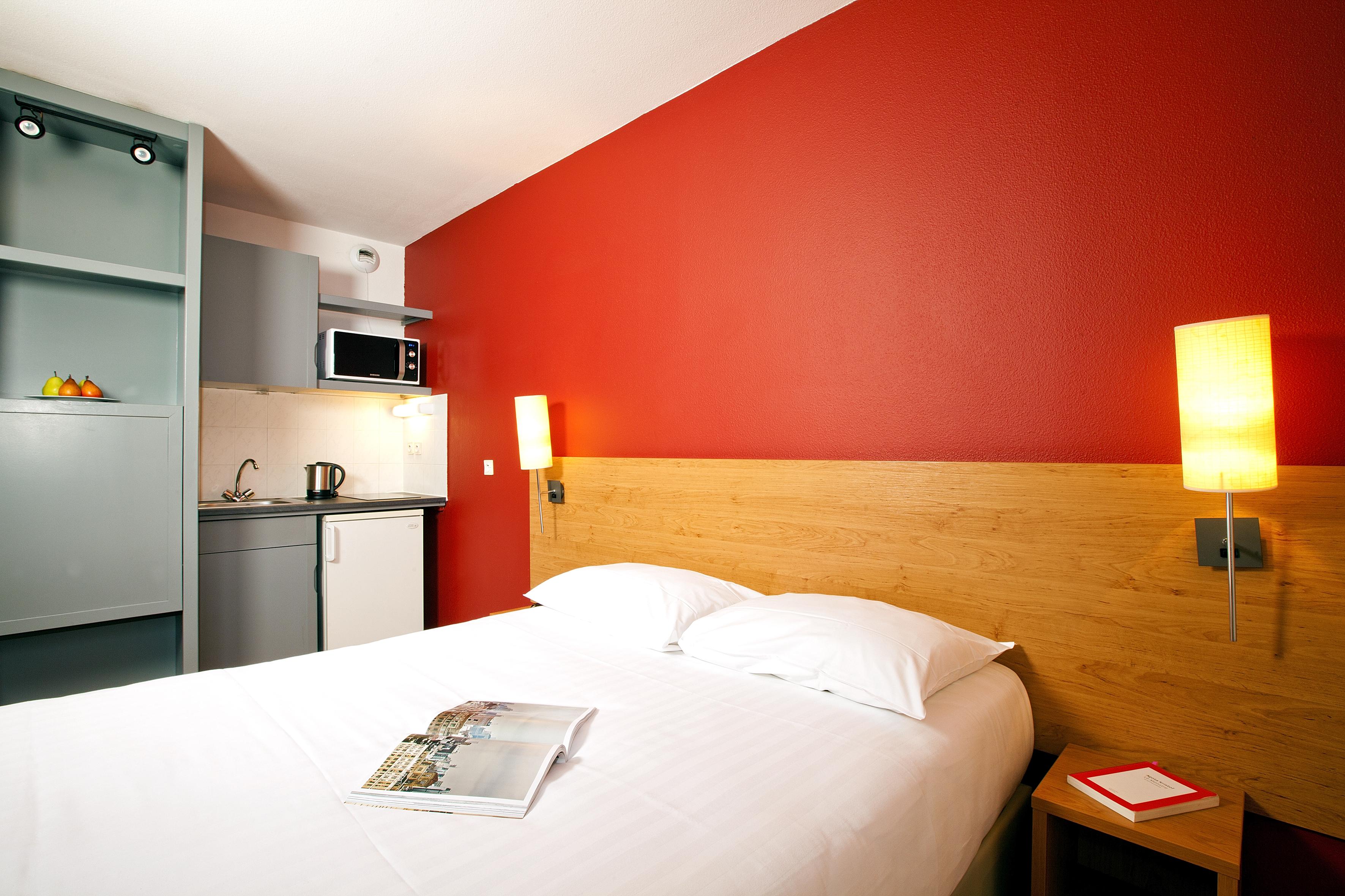 résidence, saxe gambetta, lyon, appart hotel, séjours et affaires, chambre, alliance française de lyon