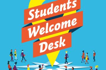 Students Welcome Desk, Lyon, accueil, étudiants internationaux, études en France, learn french in france