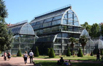 jardin botanico, cabeza de oro, lyon, verano en francés, tête d'or, ciudad de lyon, aprender francés