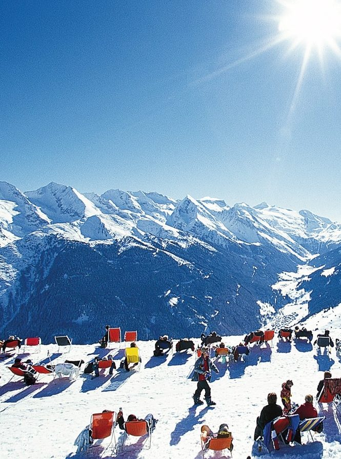 speak french and discover the alps