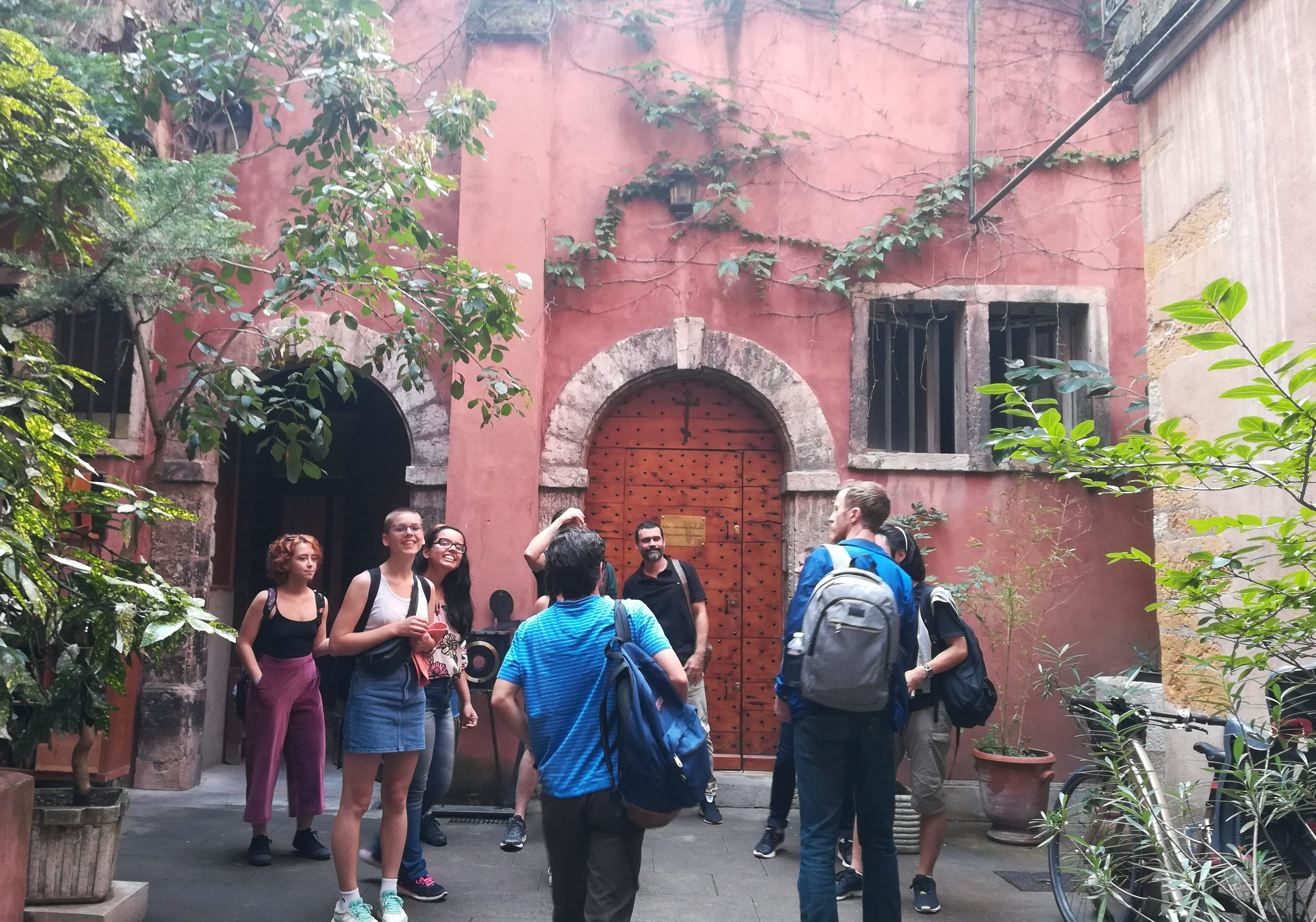 Speak French during our walking tours