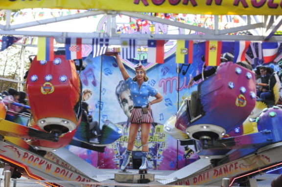 Speak French at this traditional funfair