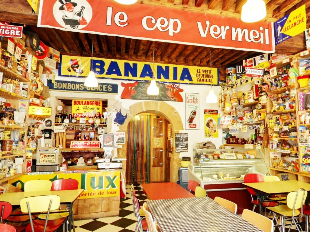 marinette super vintage cafe lyon cool en français