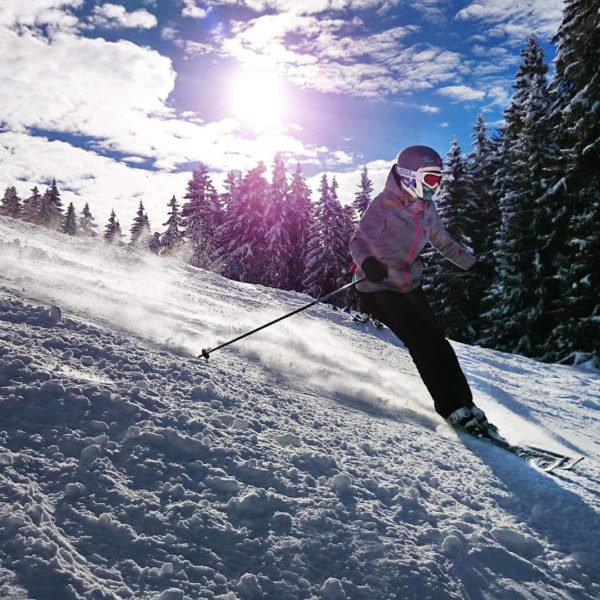 spa esqui o raquetas en los alpes ?