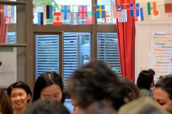 Apprendre le français en France avec des étudiants internationaux